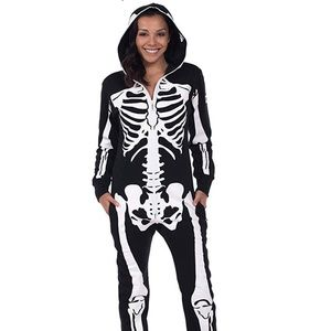 Halloween Skeleton Jumpsuit 💀